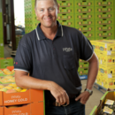 Managing director Gavin Scurr in the packing shed, Wamuran