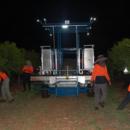 Picking Honey Gold mangoes at night, Katherine, Northern Territory