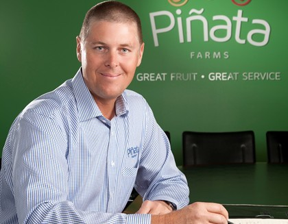 Profile of Gavin Scurr, managing director of Pinata Farms
