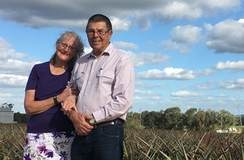 Pinata Farms' founders Narelle and Geoff Scurr