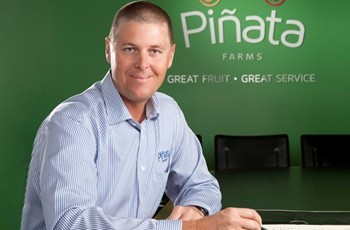 Pinata Farms managing director Gavin Scurr